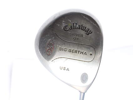 Callaway S2H2 Driver 9* Stock Graphite Shaft Graphite Stiff Right Handed 44 in