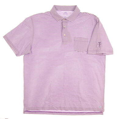 New W/ Logo Mens Peter Millar Golf Polo Large L Dragonfly MSRP $86 MS17K71P