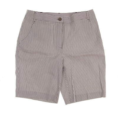 New Womens EP Pro Golf Shorts Size 6 Gray MSRP $85 8931EC