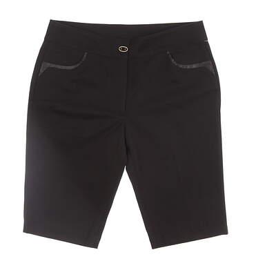 New Womens EP Pro Golf Shorts Size 6 Black MSRP $95 8510JA