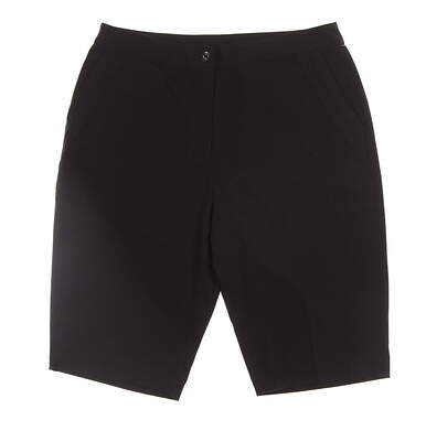 New Womens EP Pro Golf Shorts Size 2 Black MSRP $70