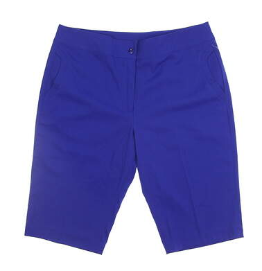 New Womens EP Pro Golf Shorts Size 8 Blue MSRP $95 8720LB