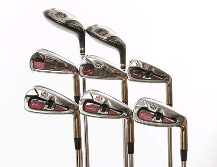 Wilson Staff Defy Iron Set 3H 4H 5-PW Half & Half Steel Regular Right Handed 38 in