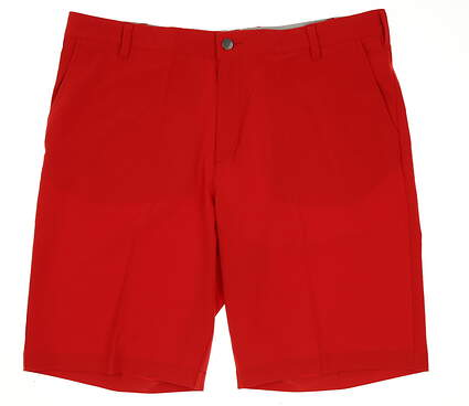New Mens Adidas Golf Ultimate Shorts Size 38 Red MSRP $65 BC2397