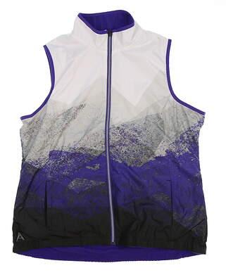 New Womens Antigua Vest X-Large XL Multi MSRP $71 101258