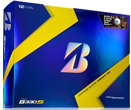 New Bridgestone Tour B330 S Dozen Golf Balls