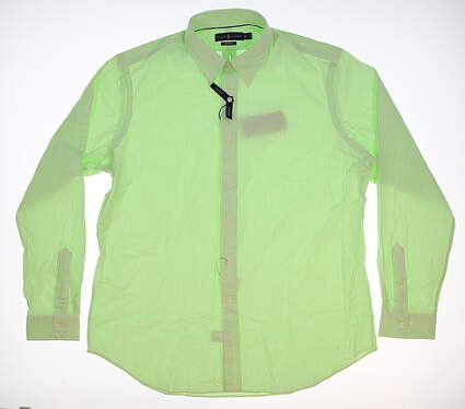 New Mens Ralph Lauren Long Sleeve Shirt X-Large XL Green MSRP $123