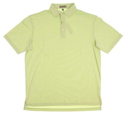 New Mens Peter Millar Golf Polo Medium M Green MSRP $90 MS17EK50S