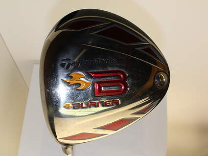 TaylorMade 2009 Burner Driver 9.5* Aldila Rogue Silver 60 Graphite Stiff Left Handed 45.5 in