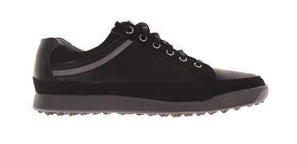 New Mens Golf Shoe Footjoy Contour Casual Medium 8.5 Black MSRP $140