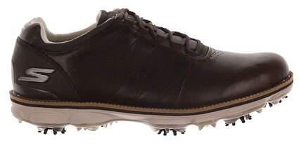 New Mens Golf Shoe Sketchers Go Golf Pro Matt Kuchar 10 Brown MSRP $140