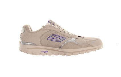 New Womens Golf Shoe Skechers GOwalk 2 Lynx LT 6.5 Taupe MSRP $100
