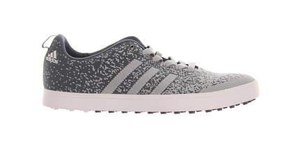 New Mens Golf Shoe Adidas Adicross Primeknit Medium 11.5 Gray MSRP $115