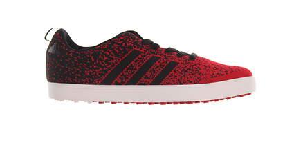 New Mens Golf Shoe Adidas Adicross Primeknit Medium 11.5 Red MSRP $115