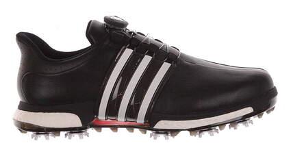 New Mens Golf Shoe Adidas Tour 360 BOA Boost 11.5 Black/White MSRP $230