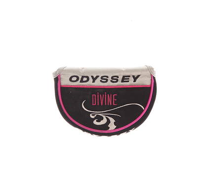 Odyssey Ladies Divine Rossie Mid Mallet Putter Headcover Pink/Black/Silver