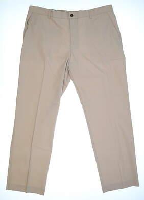 New Mens Adidas Golf Pants 40x32 Khaki MSRP $90