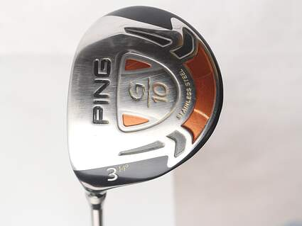 Ping G10 Fairway Wood 3 Wood 3W 14* Mitsubishi Diamana Blue S83 Graphite Stiff Left Handed 43 in