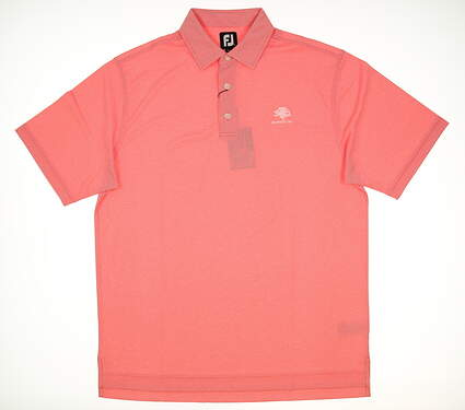 New Mens Footjoy Golf Polo Large L Pink MSRP $72 22427