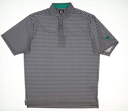 New Mens Footjoy Golf Polo Large L White MSRP $73 22732