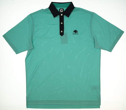 New Mens Footjoy Golf Polo X-Large XL Green MSRP $69 22428