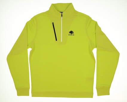 New W/ Logo Mens Footjoy Golf 1/4 Zip Pullover Medium M Green MSRP $115 27282