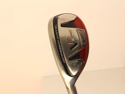 Nike Victory Red Pro Hybrid 3 Hybrid 21* Aldila VooDoo SVR8 Graphite Stiff Left Handed 40.5 in