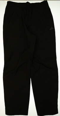 New Mens Adidas Golf Size X-Large XL Black MSRP $225 Z58225