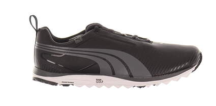 New W/O Box Mens Golf Shoe Puma Faas Lite 8.5 Black MSRP $200