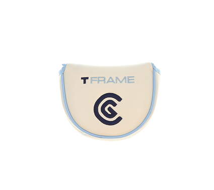 Cleveland Ladies T-Frame Mallet Putter Headcover White/Blue