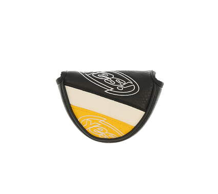Yes Mid Mallet Generic Putter Headcover Black/White/Yellow