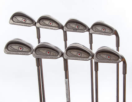 Ping Eye 2 Iron Set 3-PW Ping ZZ Lite Steel Stiff Right Handed Red dot 38 in