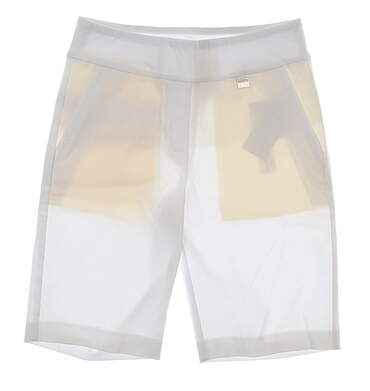 New Womens EP Pro Stretch Golf Shorts Size 6 White MSRP $85