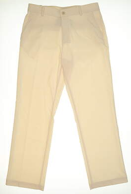 New Mens Under Armour Golf Pants 34x32 Ivory MSRP $70