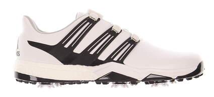 New Mens Golf Shoe Adidas Powerband Boa Boost Medium 10 White MSRP $180