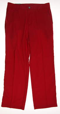 New Mens Adidas Golf Pants 32x30 Red MSRP $70 Z88614