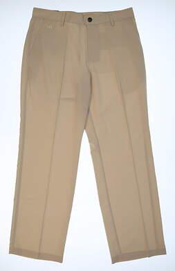 New Mens Adidas Golf Pants 32x30 Tan MSRP $70 Z25241