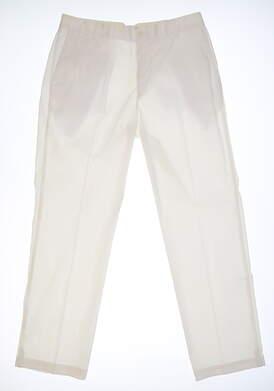 New Mens Nike Golf Pants 36x30 White MSRP $83 639779