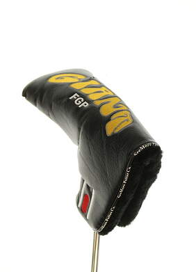 See More Giant FGP Putter Headcover Black/Yellow/Red