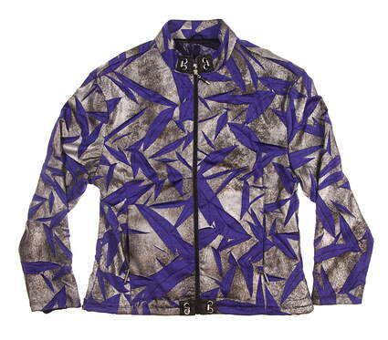 New Womens Jamie Sadock Golf Jacket Medium M Multi MSRP $129 62605