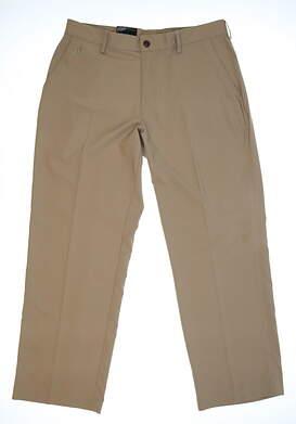 Mens Adidas Golf Pants 34x30 Khaki MSRP $70 Z25242