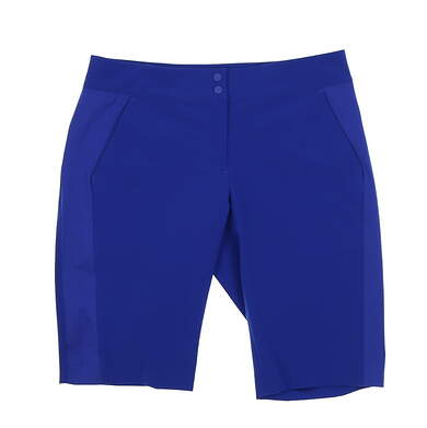 New Womens EP Pro Golf Shorts Size 6 Blue MSRP $84 1N6151