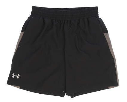New Womens Under Armour Golf Shorts Size Medium M Black MSRP $40