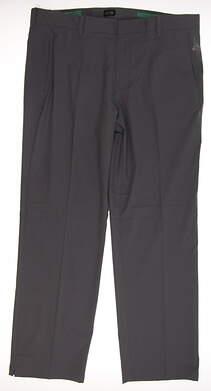 New Mens Adidas Puremotion Stretch 3 Golf Pants 38x32 Gray MSRP $70