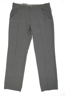 New Mens Adidas Golf Pants 34x32 Gray MSRP $85 TM6201F6