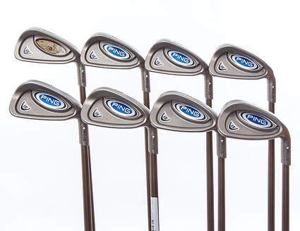 Ping i5 Iron Set 3-PW Graphite Design Gat 115 Irons Graphite X-Stiff Right Handed White Dot 38.25 in