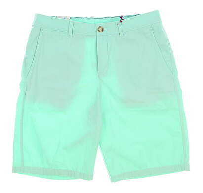 New Mens Johnnie-O Golf Shorts Size 34 Green MSRP $79 JMSH1010