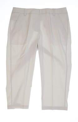 New Womens Puma Capris Size 8 White MSRP $70 570558 04