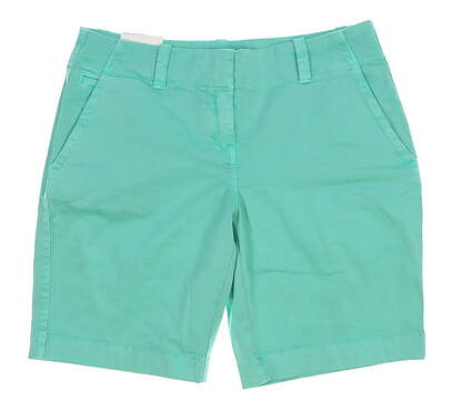 New Womens Vineyard Vines Golf Shorts Size 8 Green MSRP $78 2H0393