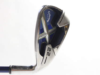 Callaway X-22 Single Iron 8 Iron Stock Graphite Shaft Graphite Ladies Right Handed 35.5 in